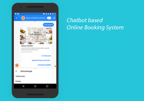 Chatbot Booking System