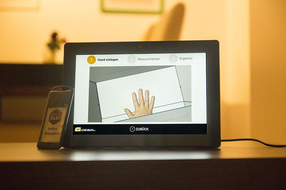 Gebol Android Kiosk app - Dice Consulting & Development