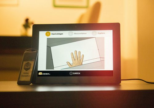Handschuhmessgerät Für Android
