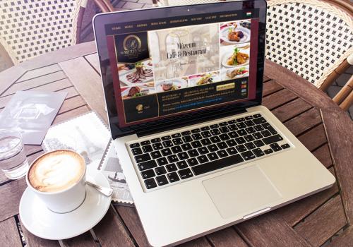 Website Für Múzeum Café